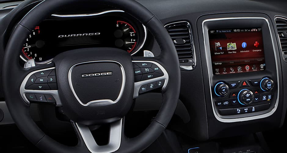 2015 Dodge Durango For Lease Near Gloucester, Massachusetts. Interior
