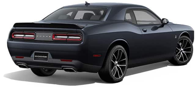 2016 dodge challenger rear view in maximum steel metallic - Dodge Challenger 2015 Exterior