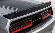 2016 Dodge Challenger Satin Black Rear Spoiler