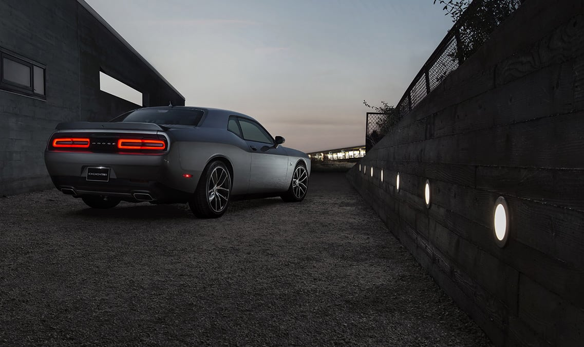 2016 Dodge Challenger 392 HEMI Scat Pack Shaker Rear View