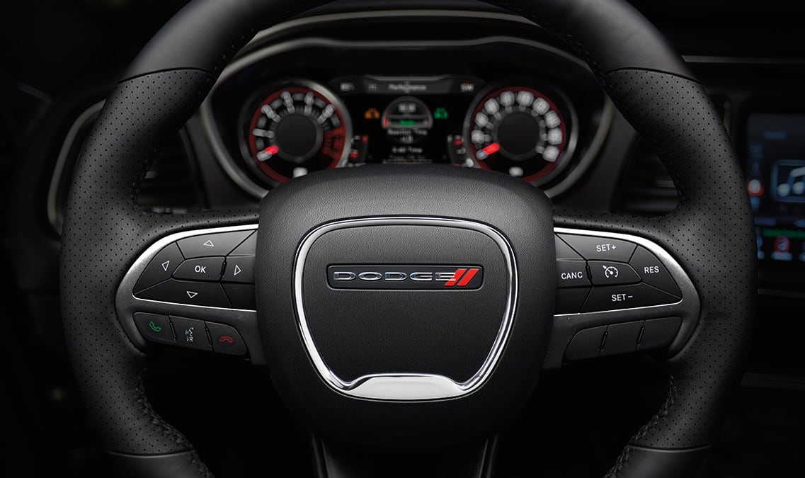 2016 Dodge Challenger R/T Steering Wheel