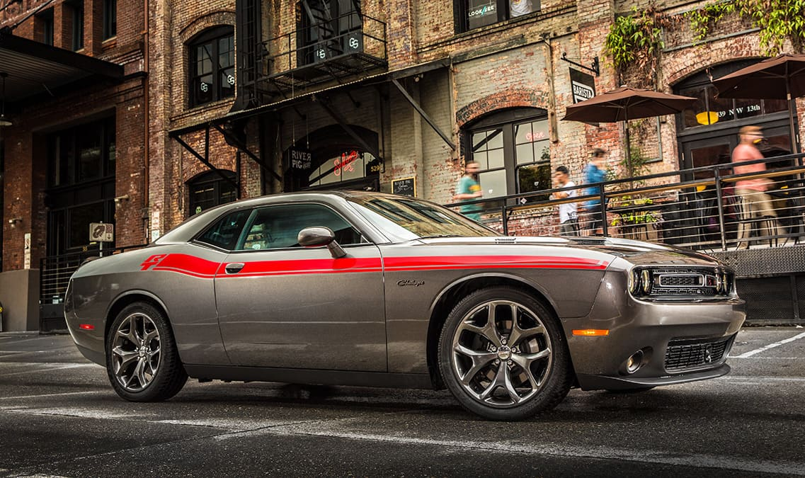 2016 Dodge Challenger R/T Plus Side View