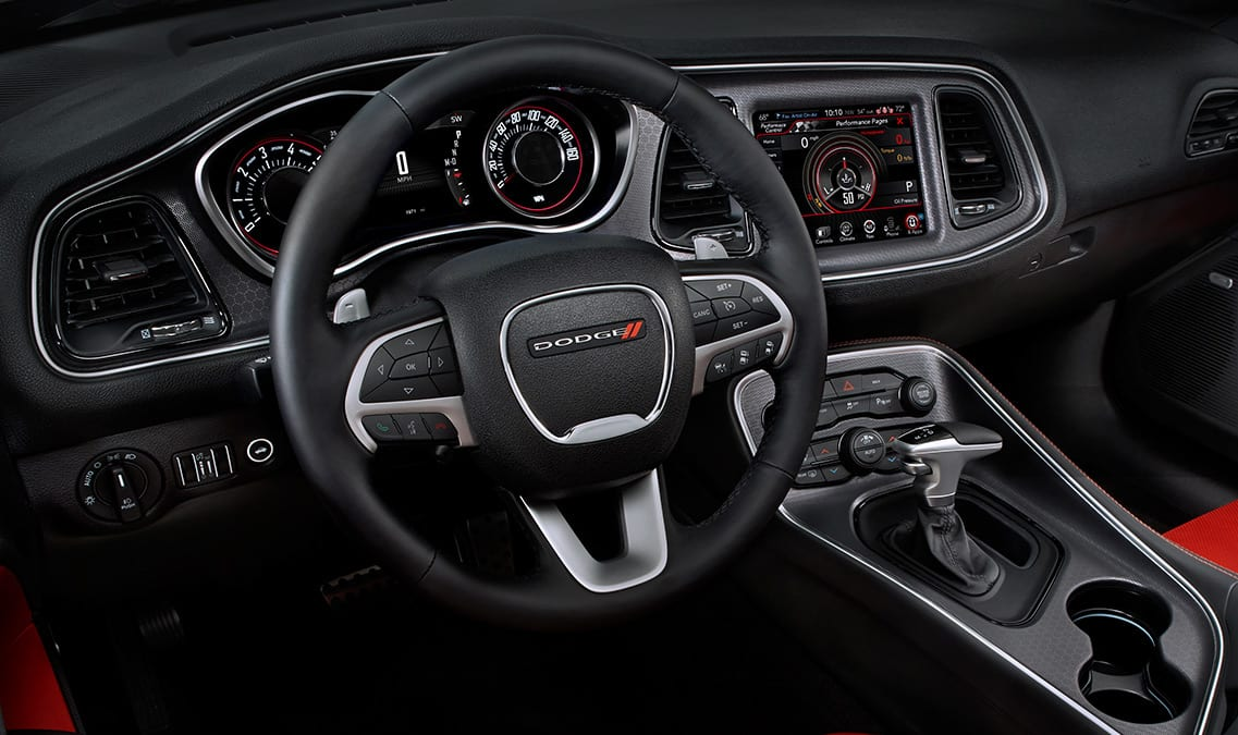 2016 Dodge Challenger R/T Plus Steering Wheel
