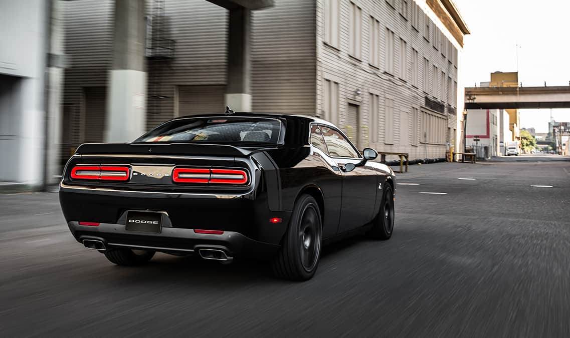 2016 Dodge Challenger R/T Scat Pack Rear View