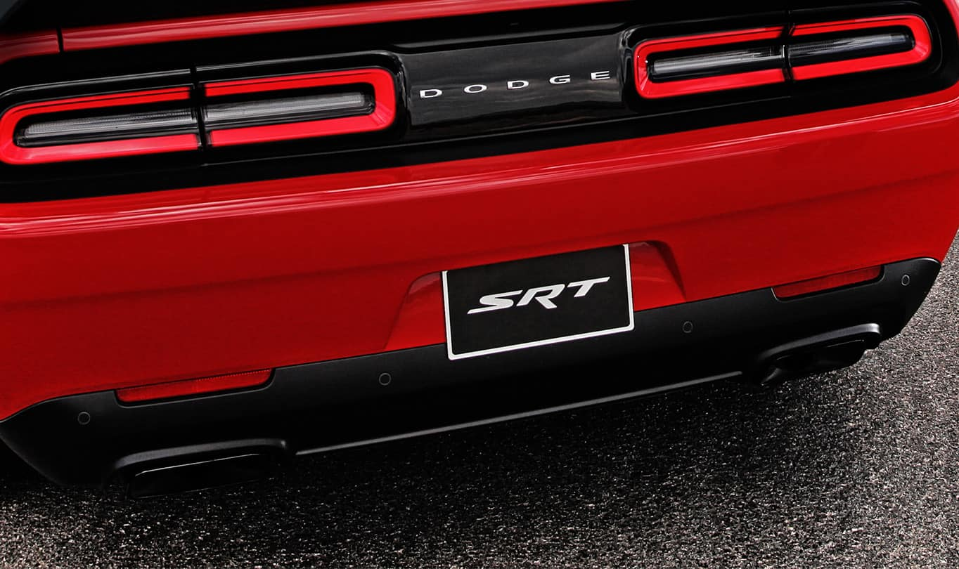 2016 Dodge Challenger SRT Hellcat Exhaust Tips
