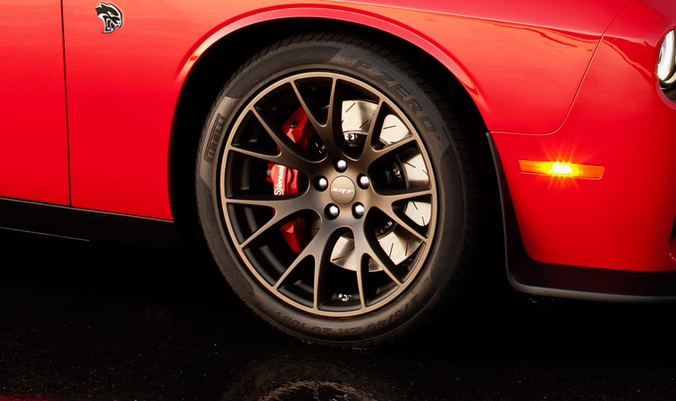 2016 Dodge Challenger SRT Hellcat Wheels