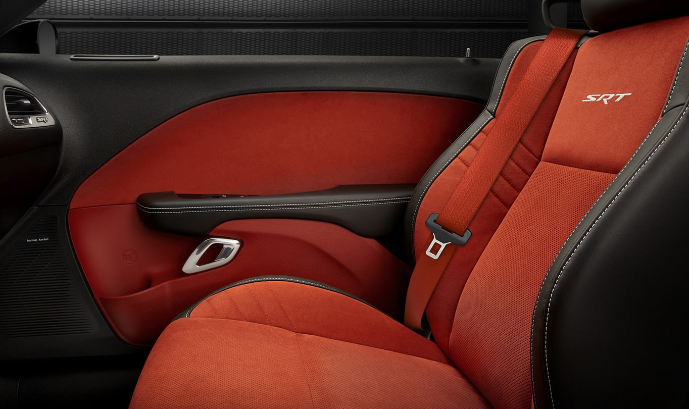 2016 Dodge Challenger SRT Hellcat Leather Seats