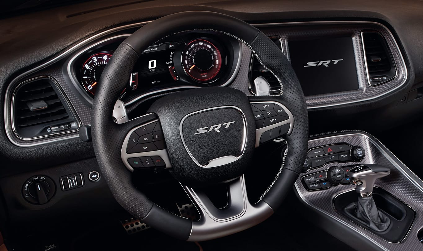 2016 Dodge Challenger SRT Hellcat Steering Wheel