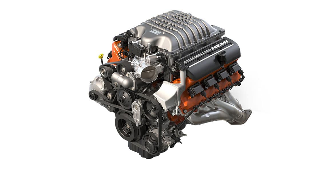 2016 Dodge Challenger SRT Hellcat V8 Engine