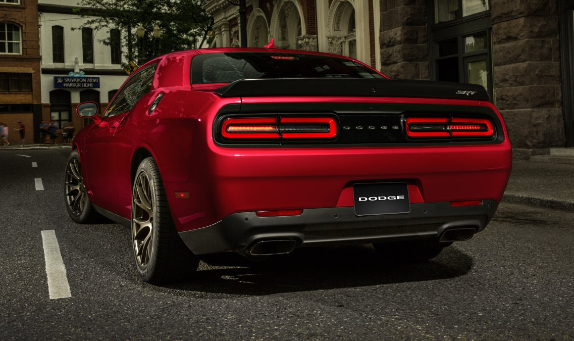 2016 Dodge Challenger SRT Hellcat Parksense Rear Park Assist