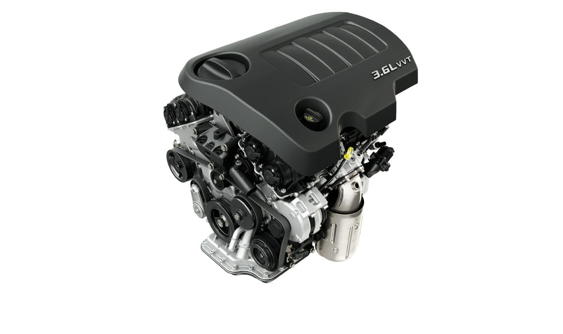 2016 Dodge Challenger SXT Pentastar V6 Engine