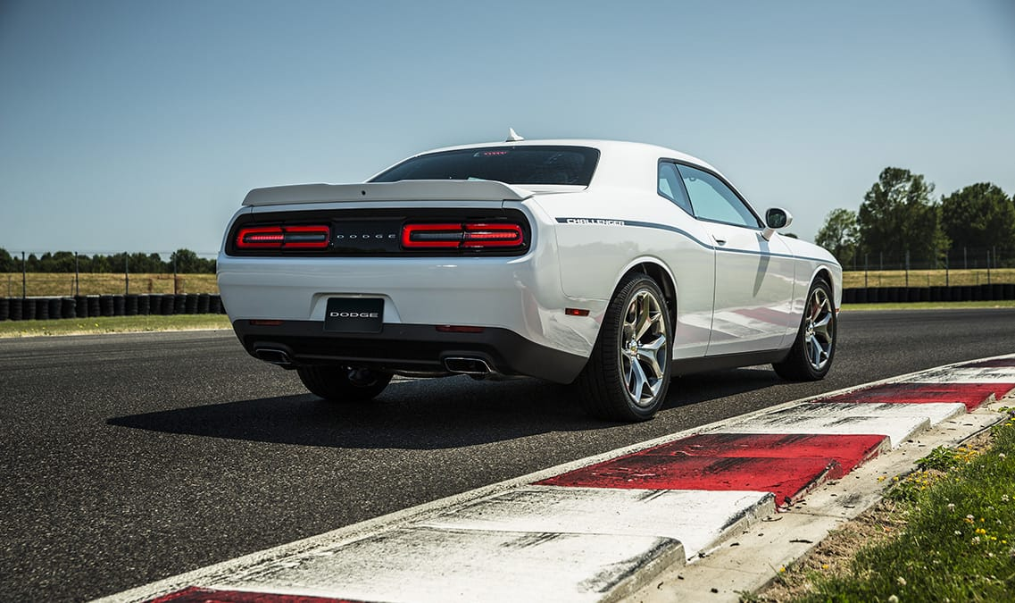 2016 Dodge Challenger SXT Plus Rear View