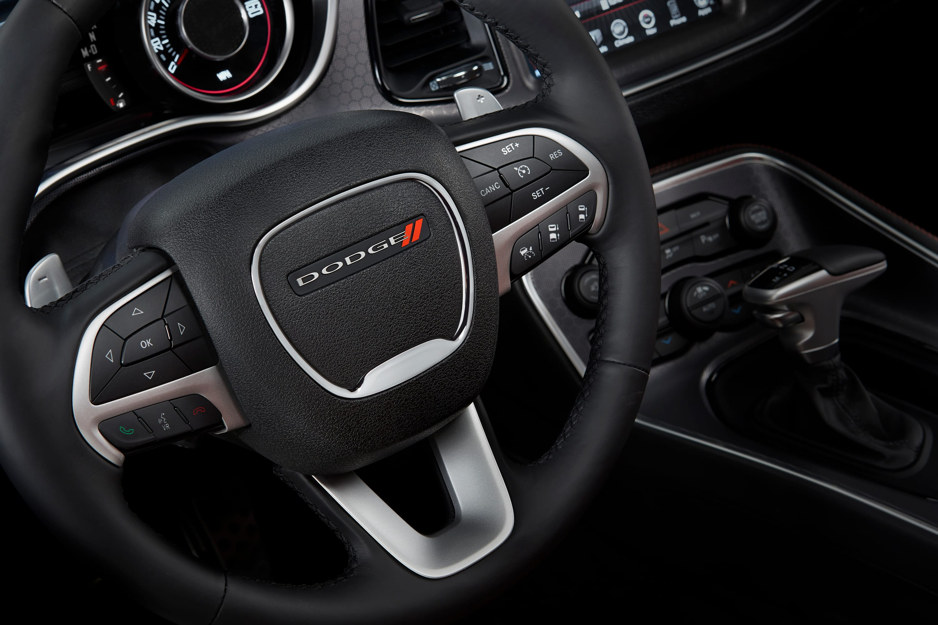 2016 Dodge Challenger SXT Plus Steering Wheel