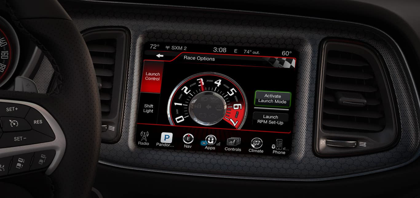 2016 Dodge Challenger Launch Control Performance Page