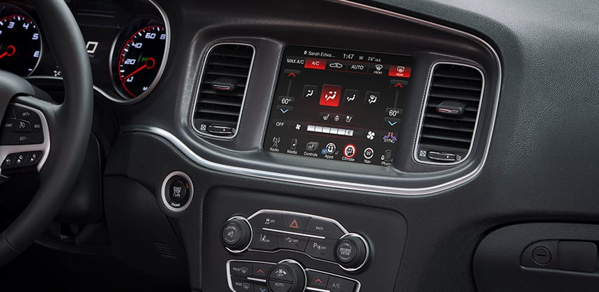 2016 dodge charger dual zone temperature control - Dodge Charger 2014 Interior