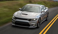 2016 Dodge Charger Integrated Front Splitter