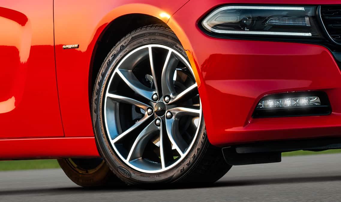 2016 Dodge Charger R/T Road & Track Wheels