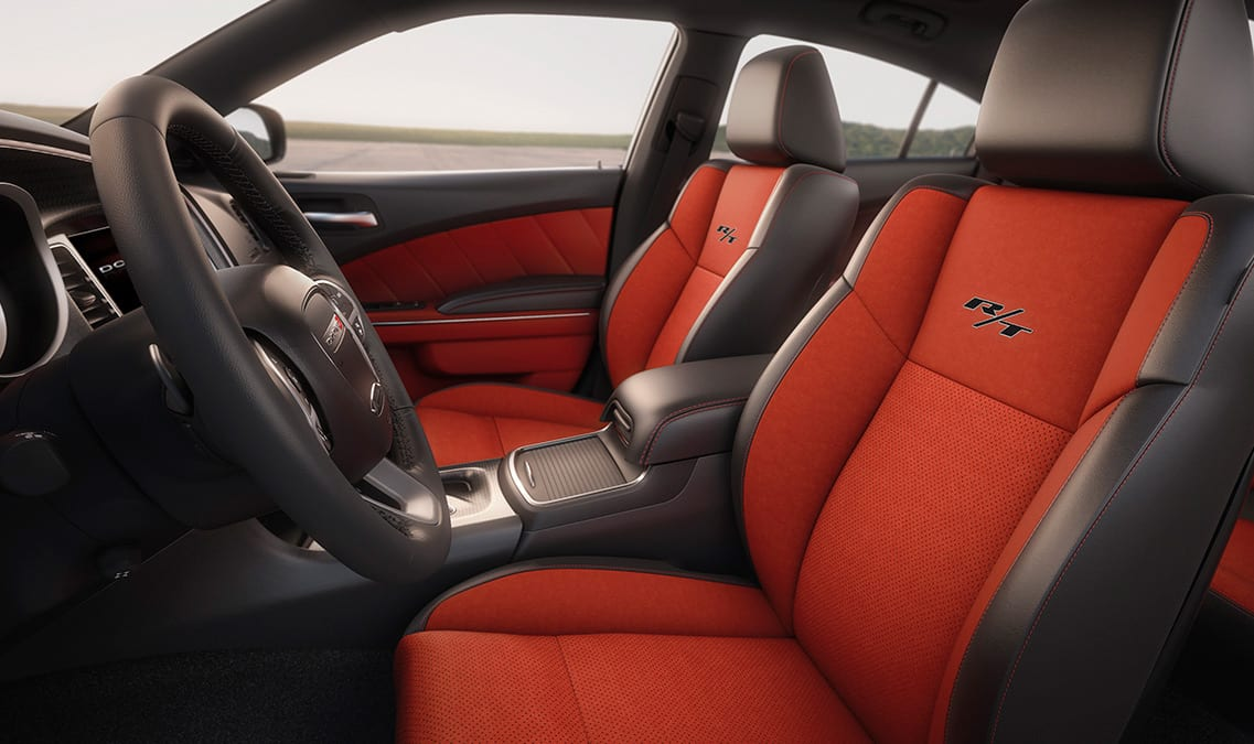 2016 Dodge Charger R/T Road & Track Leather Seats