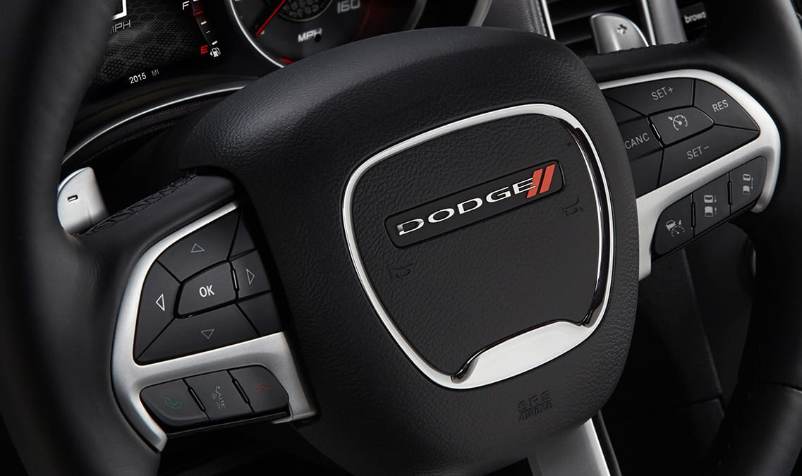 2016 Dodge Charger R/T Road & Track Steering Wheel
