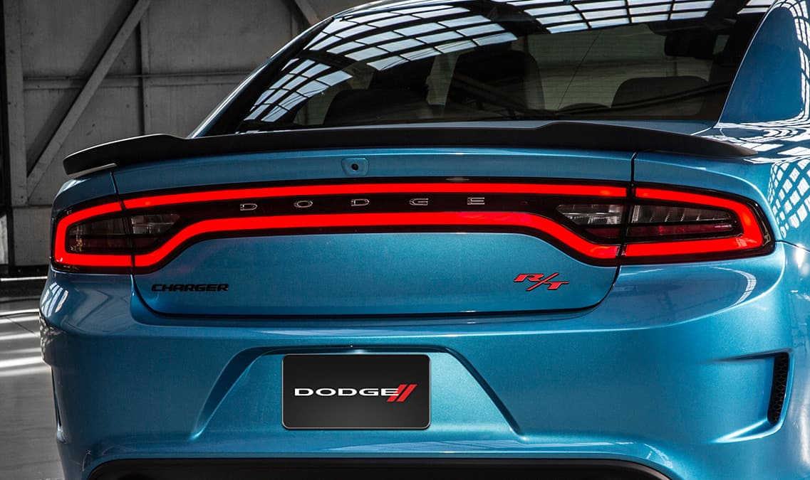 2016 Dodge Charger R/T Scat Pack Rear Spoiler