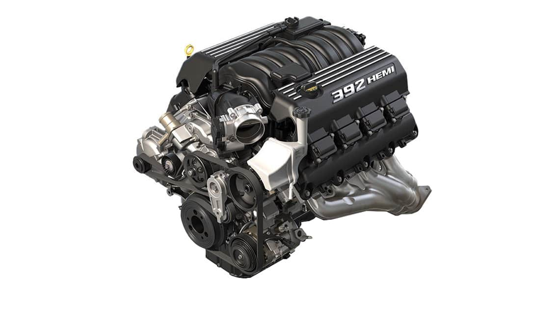2016 Dodge Charger SRT 392 V8 Engine