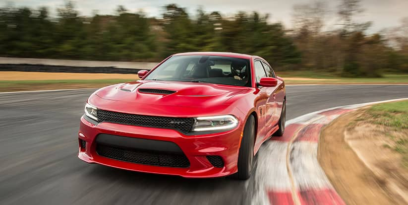 2016 Dodge Charger SRT Hellcat Front Side View