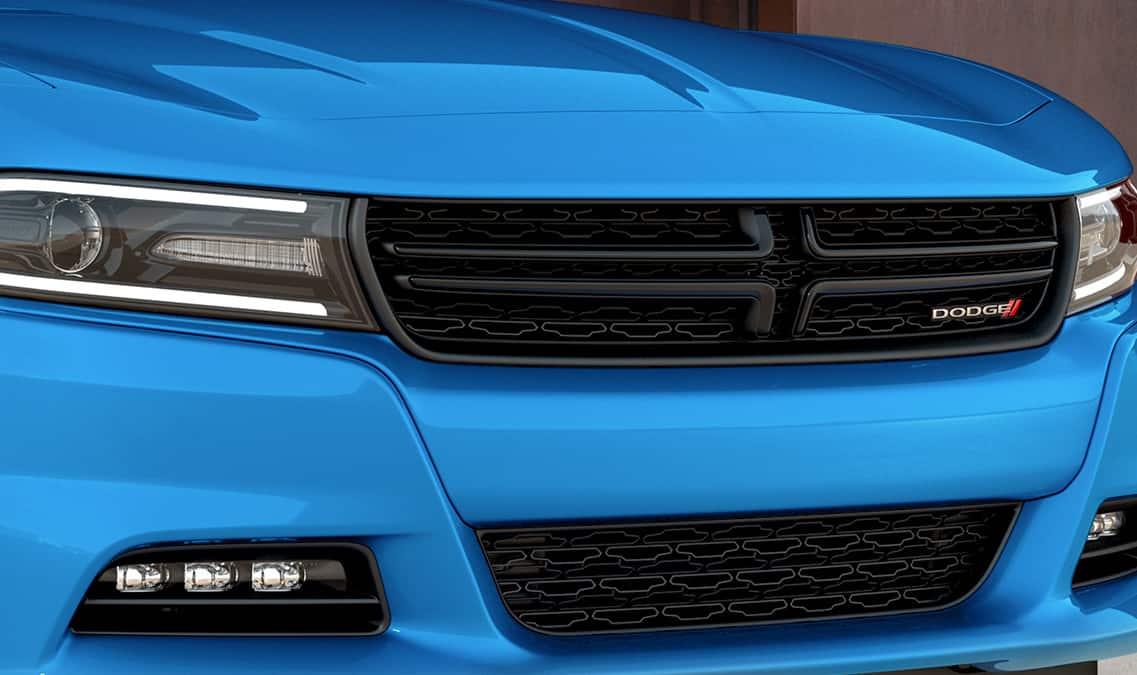2016 dodge charger sxt crosshair grille - 2016 Dodge Charger Hellcat Blue