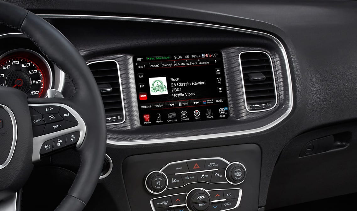 2016 Dodge Charger SXT Sirius Radio