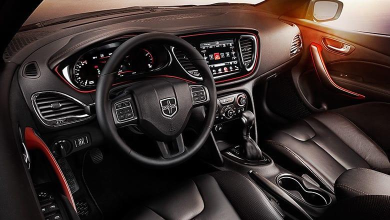 2016 Dodge Dart Interior Features