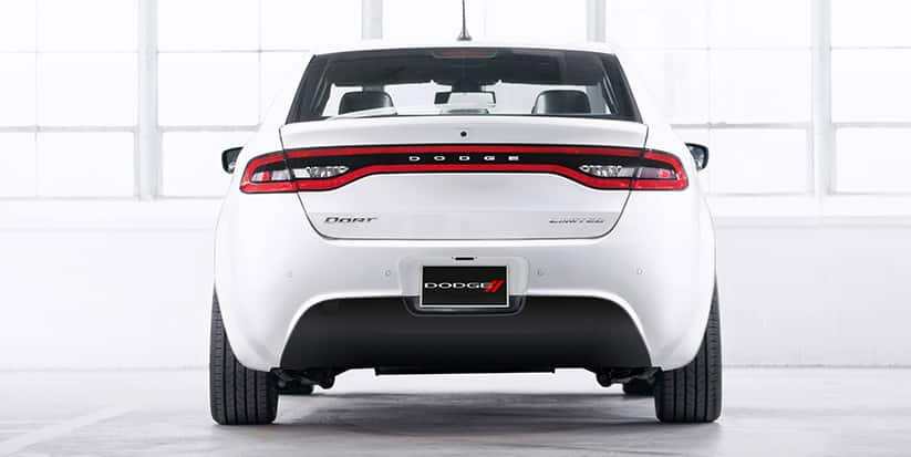 2016 Dodge Dart Limited Rear View