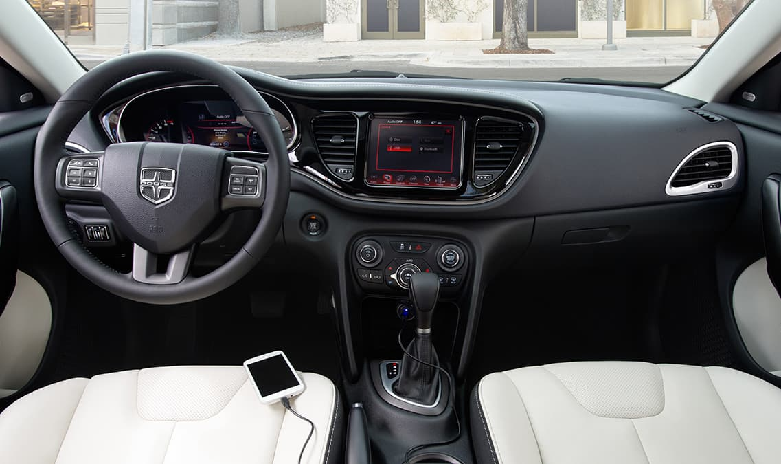 2016 Dodge Dart Limited Front Seats