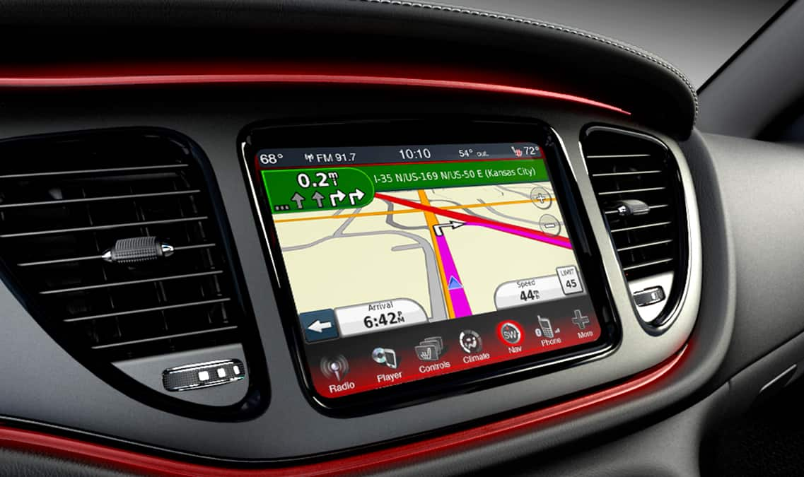 2016 Dodge Dart Limited Garmin Navigation