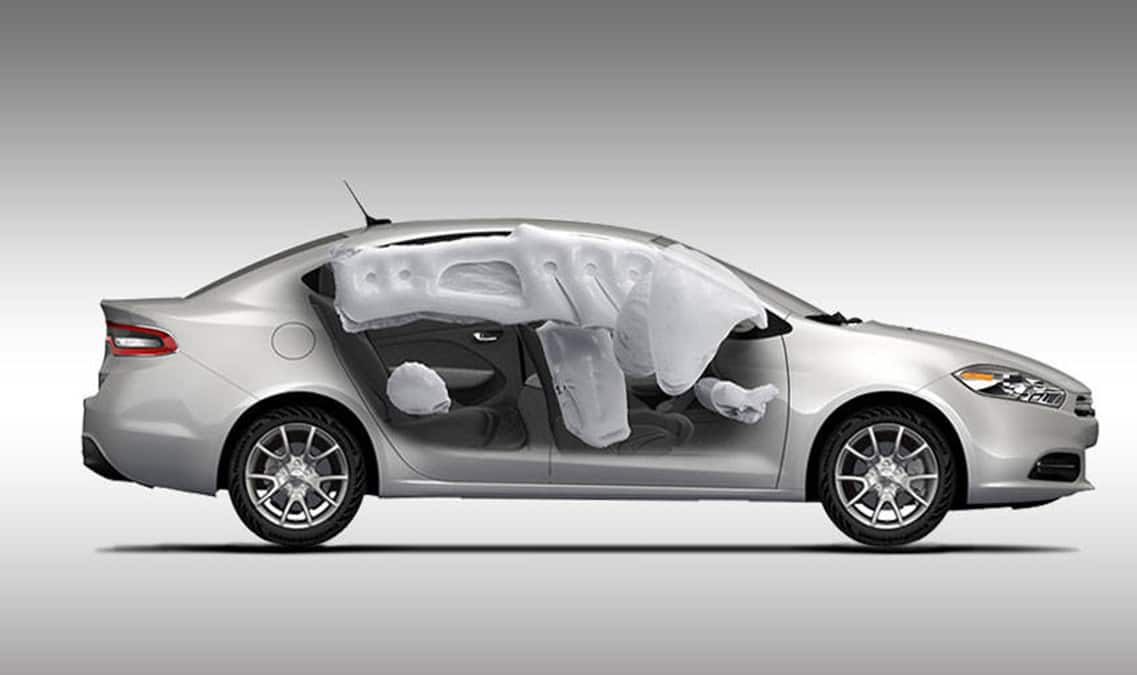 2016 Dodge Dart SXT Airbags