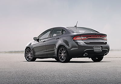 2016 Dodge Dart Rear View Thumb