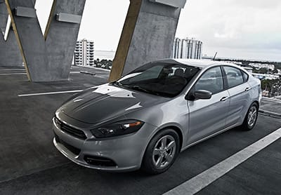 2016 Dodge Dart 16-inch Silver Wheels Thumb