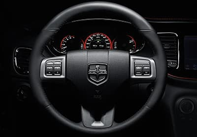 2016 Dodge Dart Steering Wheel Thumb