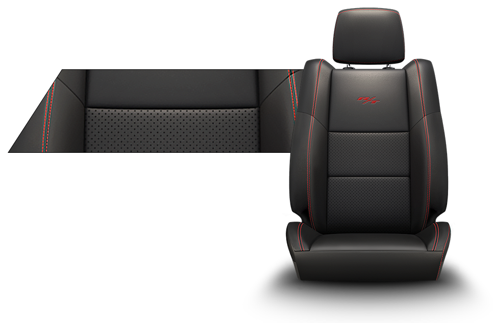 Black Car Seat Fabric
