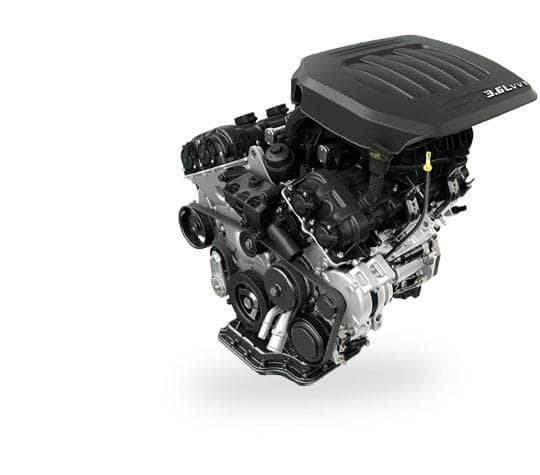 2016 Dodge Grand Caravan V6 Engine Performance