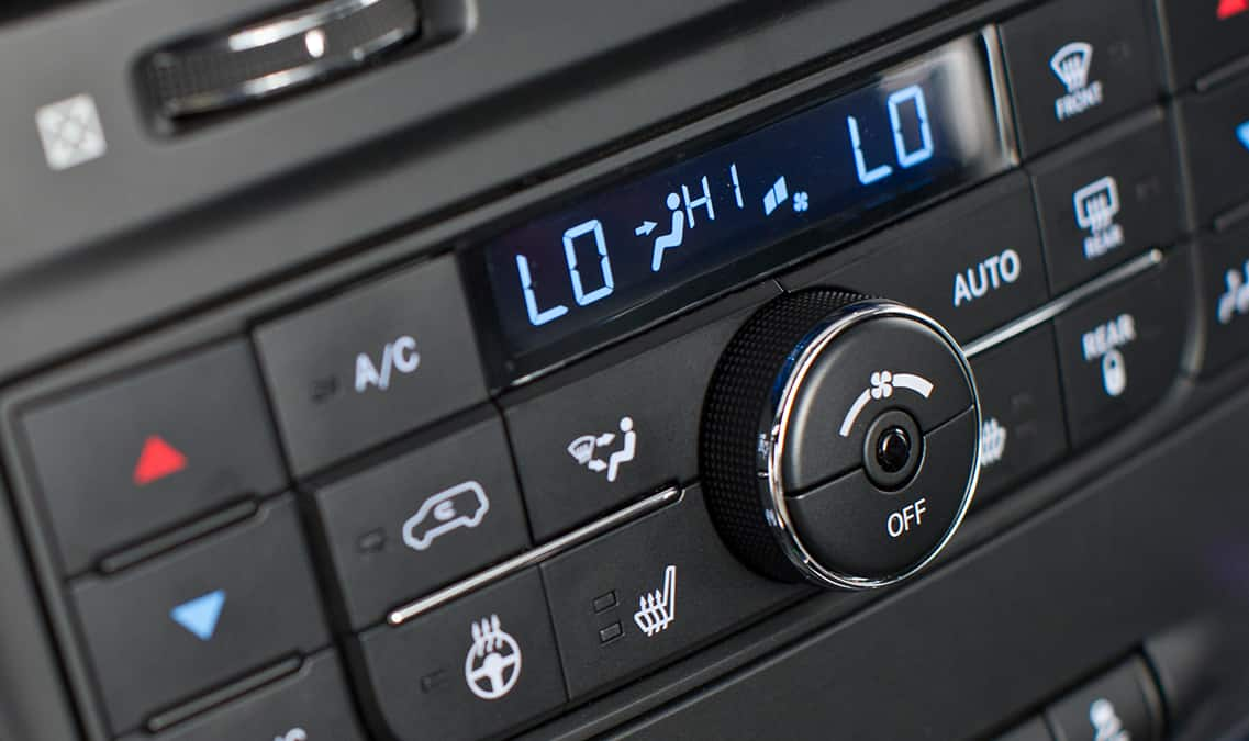 2016 Dodge Grand Caravan R/T Temperature Control