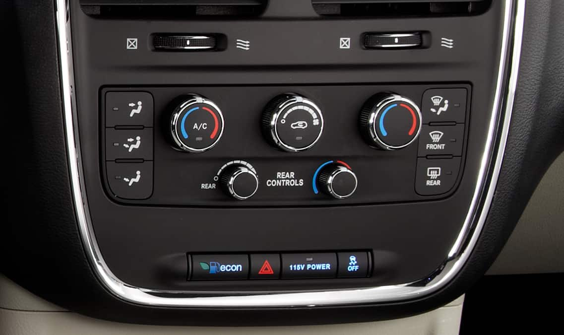 2016 Dodge Grand Caravan SE Temperature Control