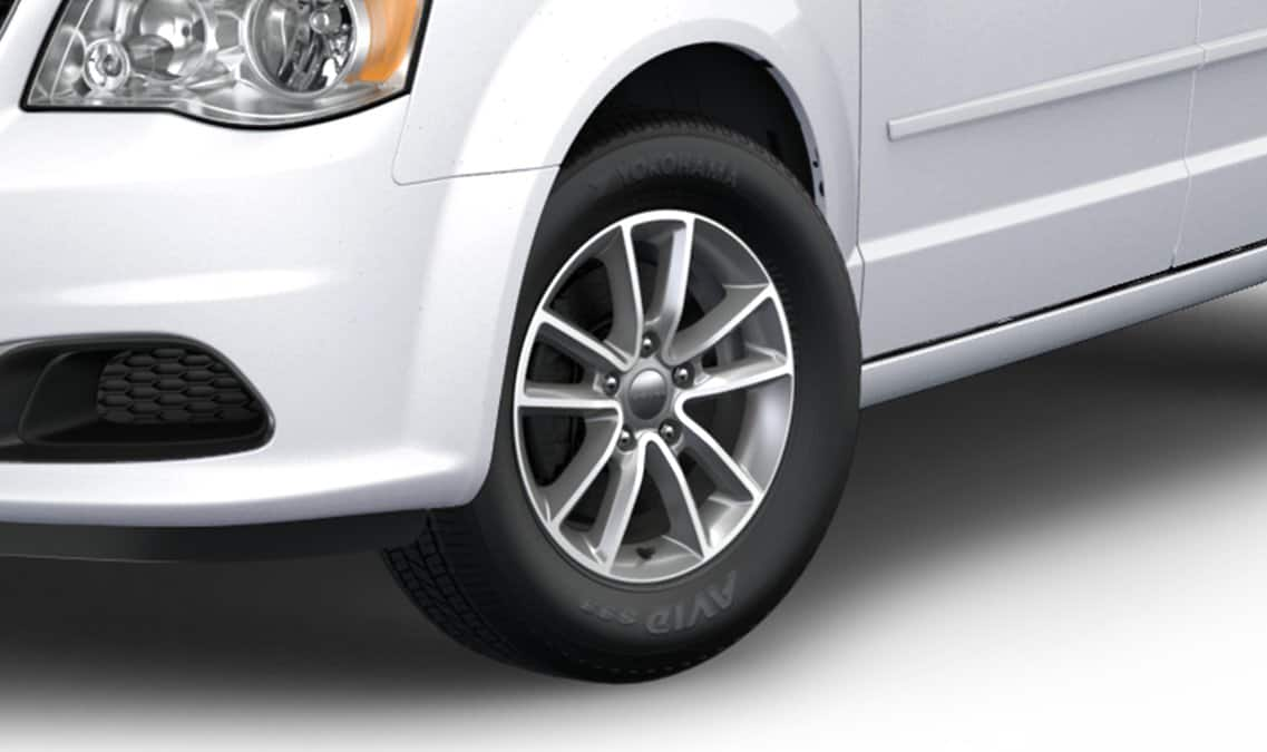 2016 Dodge Grand Caravan SXT Wheels
