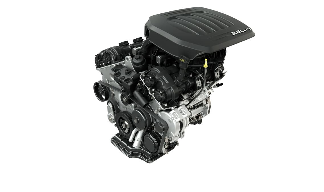 2016 Dodge Grand Caravan SXT V6 Engine