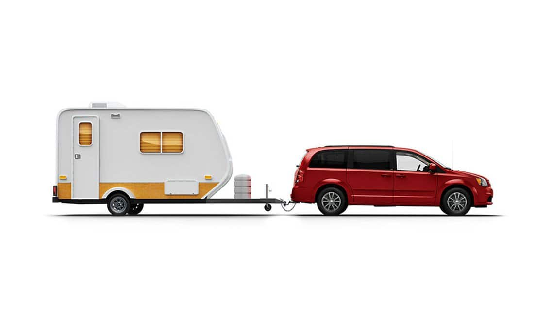 2016 Dodge Grand Caravan SXT Plus Towing Capacity