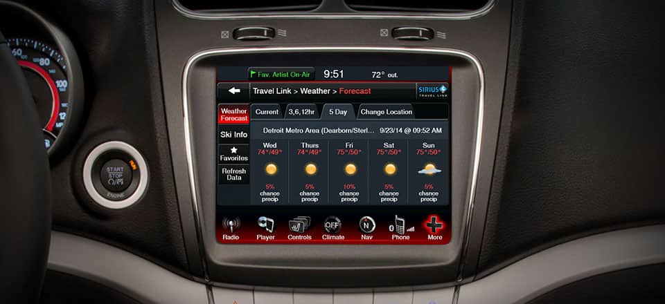 2016 Dodge Journey Technology Features