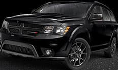2016 Dodge Journey Black Exterior Accents Thumb