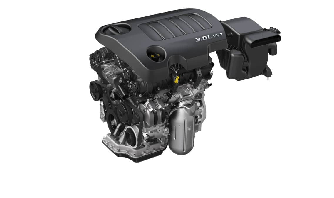 2016 Dodge Journey Crossroad Engine