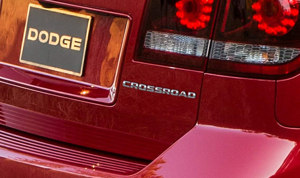 2016 Dodge Journey Crossroad Plus Badge