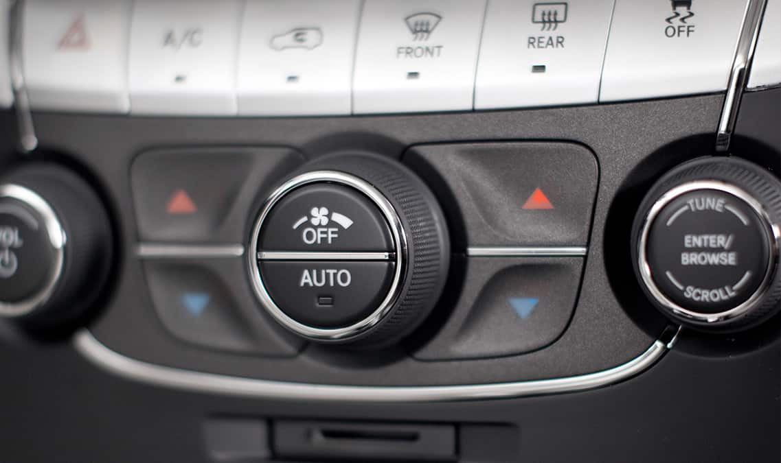 2016 Dodge Journey SE Temperature Control