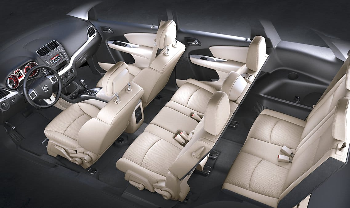 2016 Dodge Journey SXT Seating