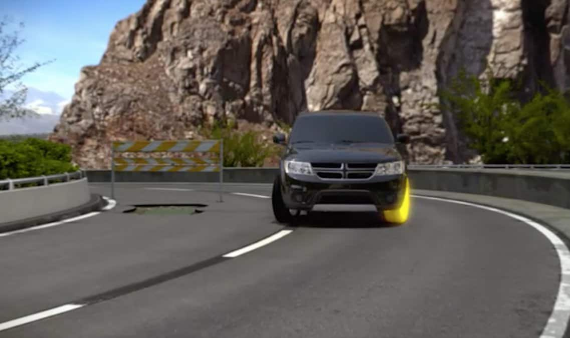2016 Dodge Journey SXT Electronic Stability Control